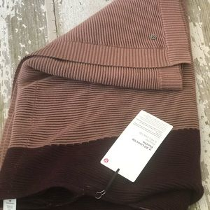 lululemon athletica Sweaters - NWT Lululemon It all Lines Up Poncho Sweater NEW